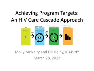 Achieving Program Targets:  A n  HIV Care Cascade Approach