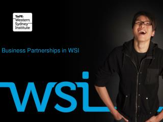 Business Partnerships in WSI