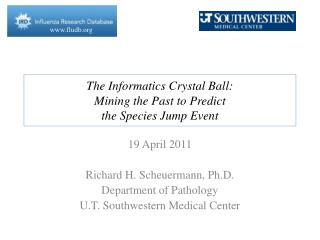 The Informatics Crystal Ball: Mining the Past to Predict  the Species Jump Event