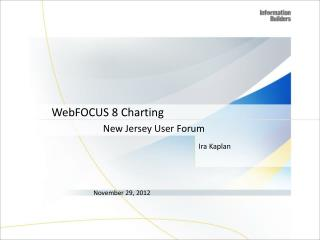 WebFOCUS 8 Charting