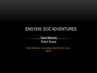 ENG1935: ECE Adventures