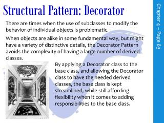 Structural Pattern: Decorator