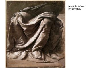 Leonardo  Da  Vinci Drapery study