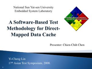 Presenter: Chien-Chih Chen
