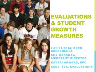 Evaluations & Student Growth Measures