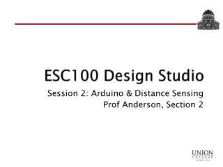 ESC100 Design Studio