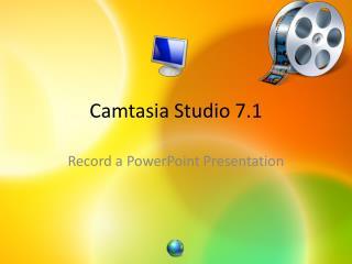 Camtasia  Studio 7.1