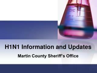 H1N1 Information and Updates