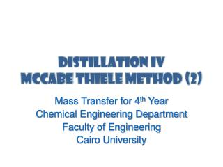 Distillation IV McCabe  thiele  method (2)