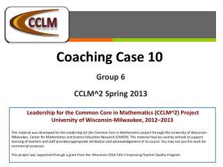Coaching  Case  10