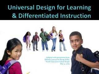 Universal Design for Learning & Differentiated Instruction