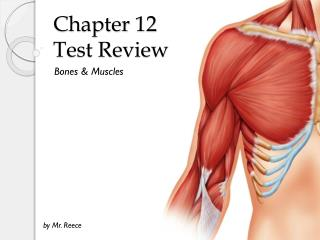 Chapter 12  Test Review
