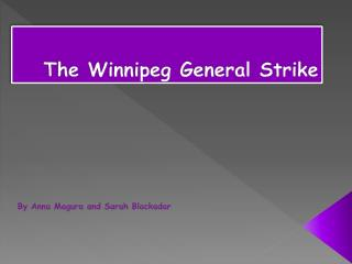 The Winnipeg General Strike