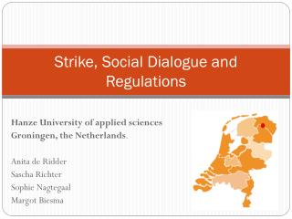 Strike,  Social Dialogue and Regulations