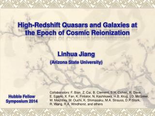 High -Redshift Quasars and Galaxies at  the  Epoch of Cosmic  Reionization