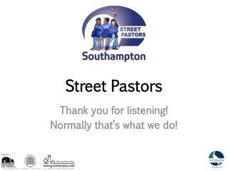 Street Pastors