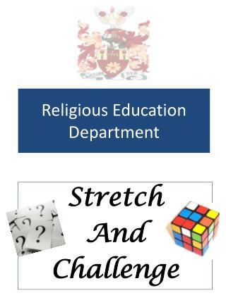 Religious Education Department