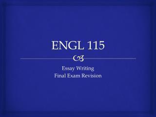 ENGL 115