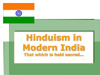 Hinduism in Modern India