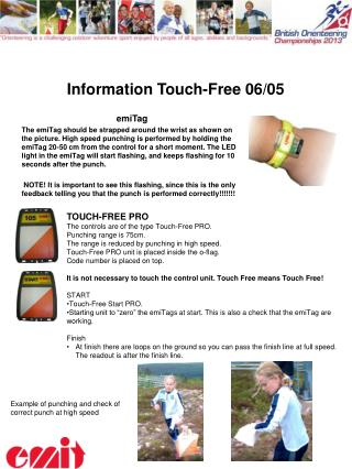 Information  Touch- Free 06/05
