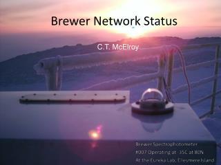 Brewer Network Status