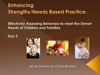 UCLA Center on Child Welfare