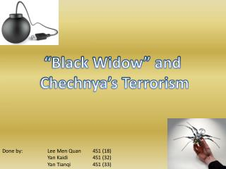 �Black Widow� and  Chechnya�s Terrorism