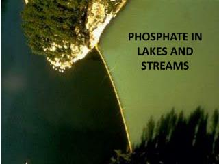 PHOSPHATE IN LAKES AND STREAMS