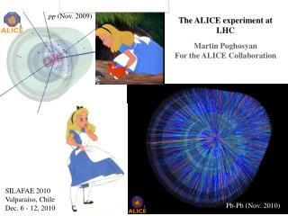 The ALICE experiment at LHC Martin  Poghosyan For the ALICE Collaboration