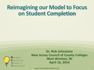 Reimagining our Model to Focus on Student Completion