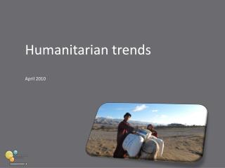 Humanitarian trends