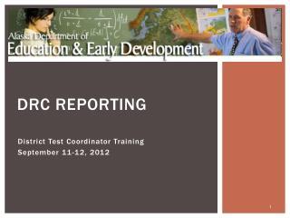 DRC  REPORTING