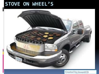 Stove on Wheel's