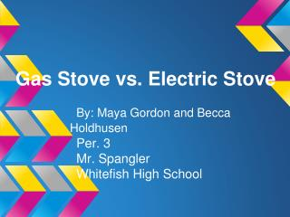 Gas Stove vs. Electric Stove