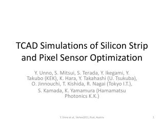 TCAD Simulations of Silicon Strip and Pixel Sensor Optimization