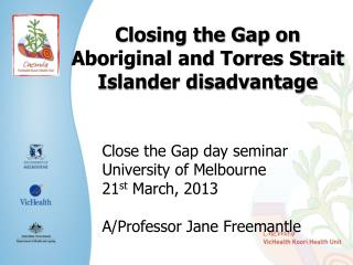 Closing the Gap on Aboriginal and Torres Strait Islander disadvantage