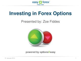 Investing in Forex Options