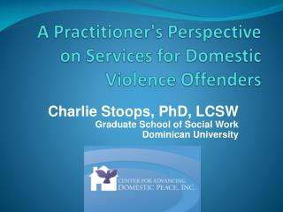 A Practitioner's Perspective on Services for Domestic Violence Offenders