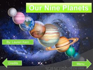 Our Nine Planets