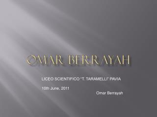 Omar  berrayah
