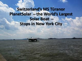 Planetsolar slideshow