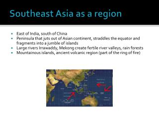 Southeast Asia as a region