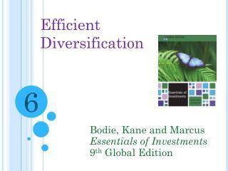 Efficient Diversification