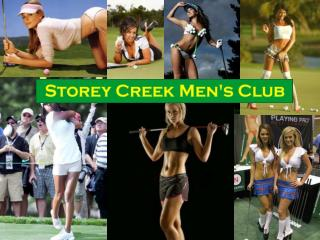 STOREY CREEK MENS' CLUB ANNUAL GENERAL MEETING SEPTEMBER 25, 2013 AGENDA