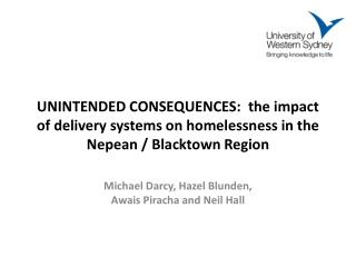 Michael Darcy, Hazel Blunden,  Awais Piracha and Neil Hall