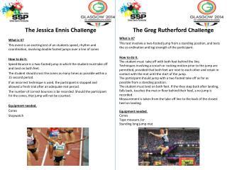 The Jessica Ennis Challenge