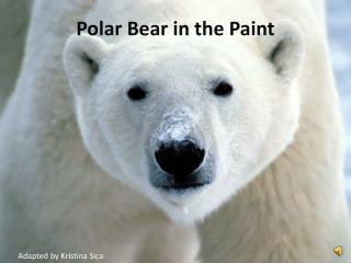 Polar Bear in the Paint