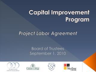 Capital Improvement Program