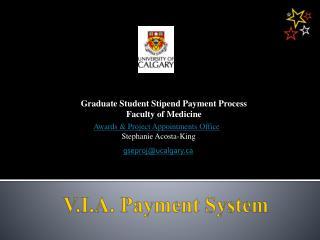 V.I.A. Payment System