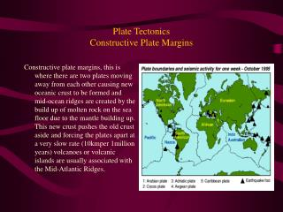 Plate Tectonics Constructive Plate Margins